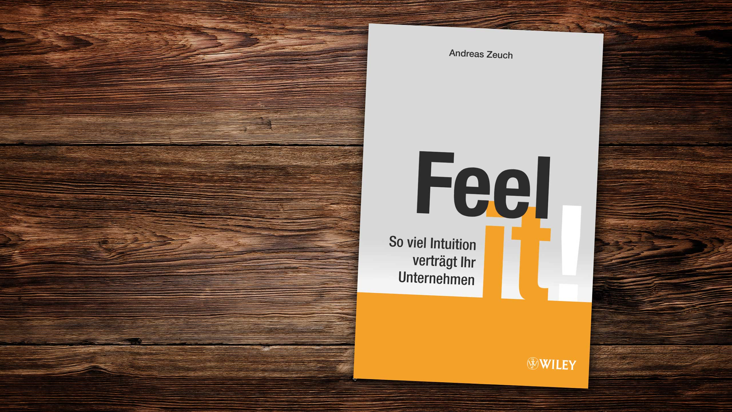EnjoyWork LeseLust: Feel it!. Foto: copy Dr. Andreas Zeuch / Wiley