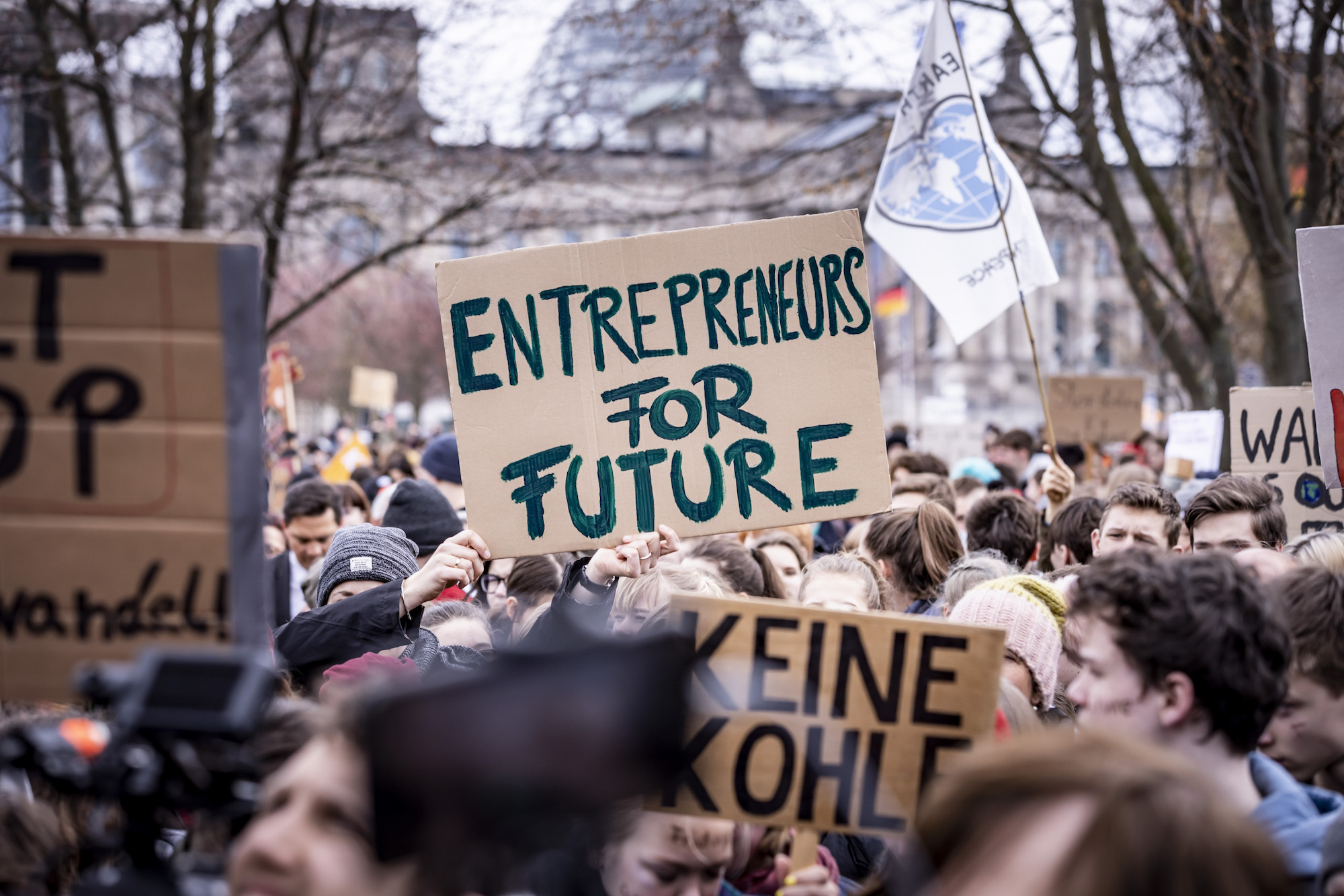 Globale Klimastreiks - Entrepreneurs For Future. Bild: copy Entrepreneurs For Future
